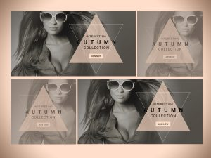 Interesting Autumn collection-Social Media Templates