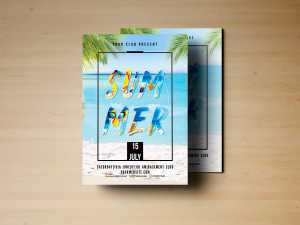 Summer Holiday – Flyer Templates