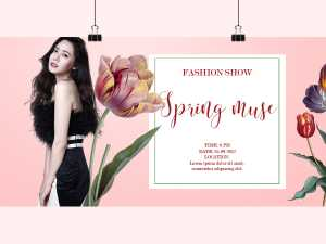 Fashion Show – Spring Muse – Social Media Template