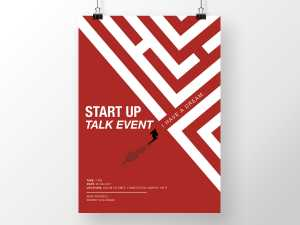 Start Up Talk Event Poster