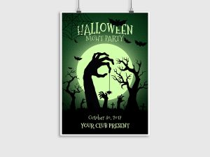 Halloween Night Party – Poster template