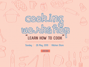 Cooking Workshop – Design Template