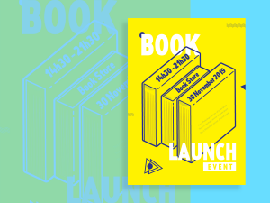 Book Launch Event – Design Template