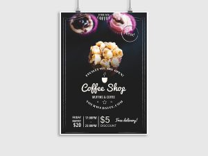 Coffee Shop – Flyer Template