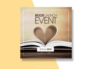 Book Launch Event – Social Media Templates