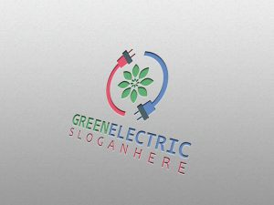 Green Electric – Logo Template