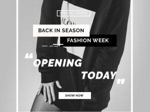Fashion Week – Social Media Template