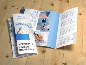 Insurance Brochure Template 02