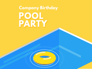 Pool Party Social Media Template