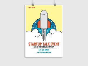 Startup Talk Event – Flyer Templates