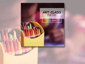 Art Class for Kid – Social Media Templates