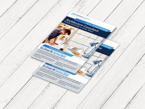 Architecture Consultant Flyer template
