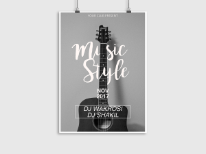 Music Style Poster Templates