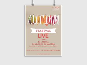 Autumn Festival Poster Templates