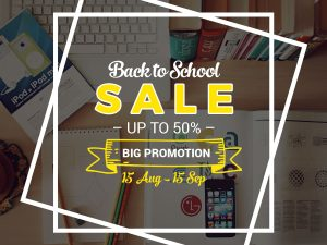 Back To School Sale – Social Media Template
