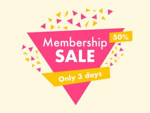 Social media Membership Sale template