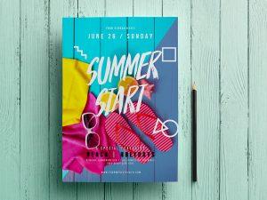 Summer Start – flyer Template