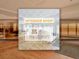Interior Shop Social Media Templates