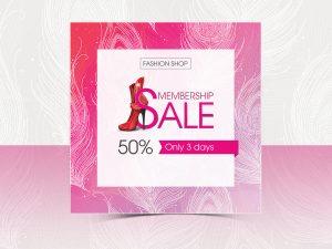 Membership Sale Social Media Templates