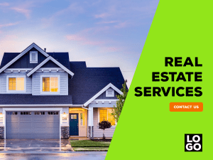 Real Estate Services – Social media template