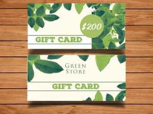 Voucher Green Store