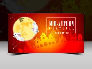 Mid Autumn Festival Vector Templates