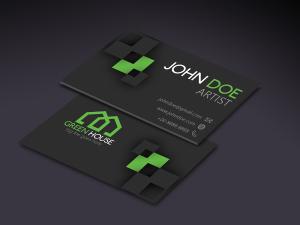 Artist – Green House – Business Card