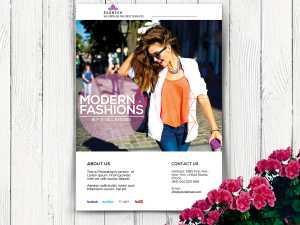 Modern Fashion Flyer Templates