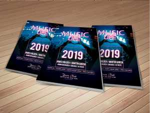 Music Event Flyer Templates