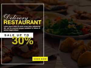 Deli Restaurant – Social Media Template