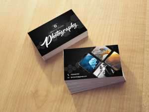 Photographer – Business Card Templates