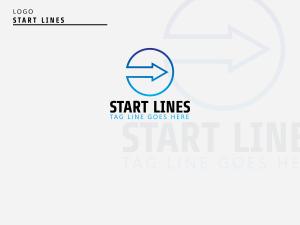 Start Lines – Logo Design