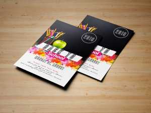 Back to school – Flyer templates