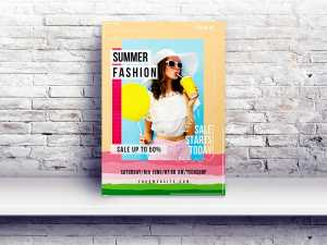 Summer Fashion – Flyer/ Poster templates