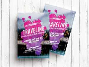 Traveling – Flyer Templates