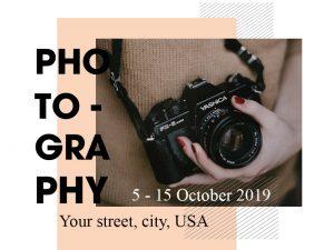 Photography – Social Media Template