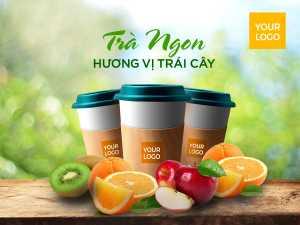 Fresh Fruit Juice, Coffee Cup – Design Templates